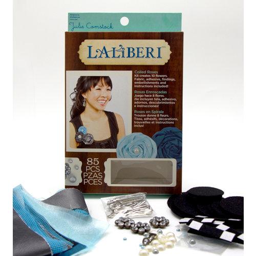 EK Success - Laliberi - Julie Comstock - Jewelry - Flower Kit - Coiled Roses - Dark