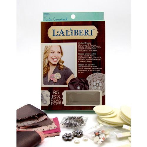 EK Success - Laliberi - Julie Comstock - Jewelry - Flower Kit - Coiled Roses - Light