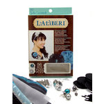 EK Success - Laliberi - Julie Comstock - Jewelry - Flower Kit - Romantic Ruffles - Dark