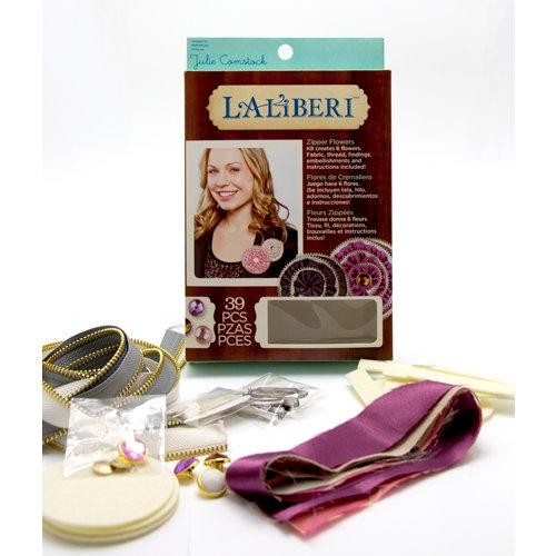 EK Success - Laliberi - Julie Comstock - Jewelry - Flower Kit - Zipper - Light