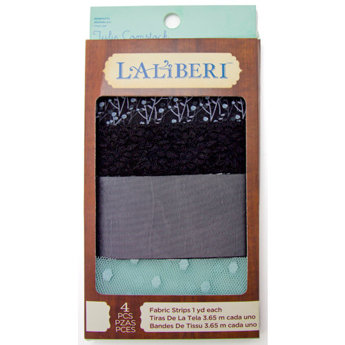 EK Success - Laliberi - Julie Comstock - Jewelry - Fabric Strips - Dark - Assortment 1