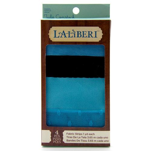 EK Success - Laliberi - Julie Comstock - Jewelry - Fabric Strips - Dark - Assortment 2