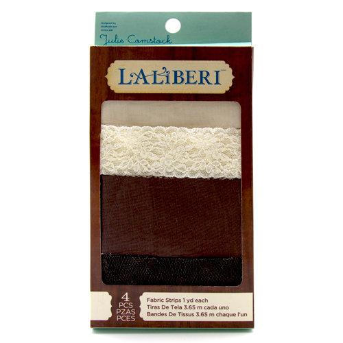 EK Success - Laliberi - Julie Comstock - Jewelry - Fabric Strips - Light - Assortment 1