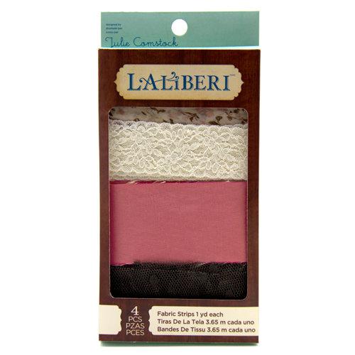 EK Success - Laliberi - Julie Comstock - Jewelry - Fabric Strips - Light - Assortment 3