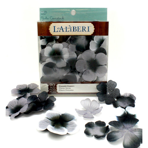 EK Success - Laliberi - Julie Comstock - Jewelry - Pressed Flowers - Rounded - Dark