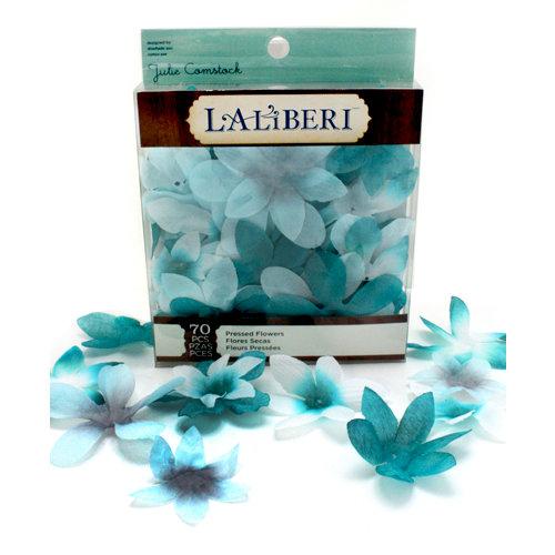 EK Success - Laliberi - Julie Comstock - Jewelry - Pressed Flowers - Pointed - Dark