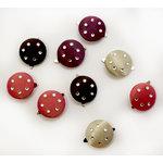 EK Success - Laliberi - Julie Comstock - Jewelry - Jeweled Satin Brads - Light