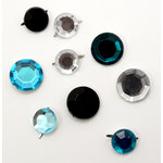 EK Success - Laliberi - Julie Comstock - Jewelry - Gemstone Brads - Dark