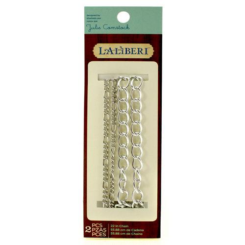EK Success - Laliberi - Julie Comstock - Jewelry - Necklace Chains - Silver