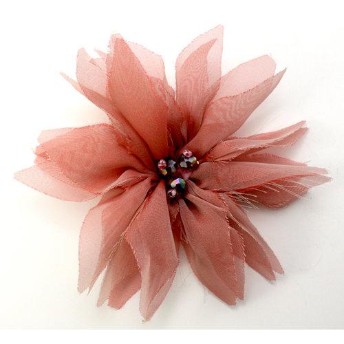 EK Success - Laliberi - Julie Comstock - Jewelry - Ready to Wear Flower - Pink Pointed