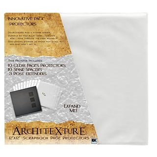 EK Success - Architexture - 12 x 12 Page Protectors