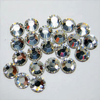 EK Success - Jolee's Jewels - Crystallized Swarovski Elements Collection - Flat Back Hotfix Jewels - 5 mm - Crystal