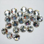 EK Success - Jolee's Jewels - Crystallized Swarovski Elements Collection - Flat Back Hotfix Jewels - 5 mm - Crystal