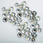 EK Success - Jolee's Jewels - Crystallized Swarovski Elements Collection - Flat Back Hotfix Jewels - 3 mm - Crystal
