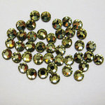 EK Success - Jolee's Jewels - Crystallized Swarovski Elements Collection - Flat Back Hotfix Jewels - 3 mm - Jonquil