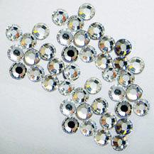 EK Success - Jolee's Jewels - Crystallized Swarovski Elements Collection - Flat Back Jewels - 3 mm - Crystal