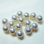 EK Success - Jolee's Jewels - Crystallized Swarovski Elements Collection - Jewelry Beads - Pearl - 6 mm - White