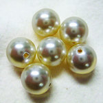 EK Success - Jolee's Jewels - Crystallized Swarovski Elements Collection - Jewelry Beads - Pearl - 8 mm - Cream