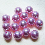 EK Success - Jolee's Jewels - Crystallized Swarovski Elements Collection - Jewelry Beads - Pearl - 6 mm - Rosaline