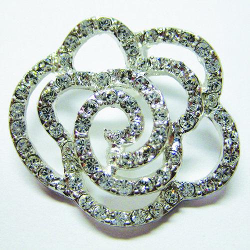 EK Success - Jolee's Jewels - Crystallized Swarovski Elements Collection - Jewelry Pendant - Crystal Rose - Crystal