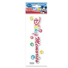 EK Success - Disney - 3 Dimensional Title Stickers - Disney Memories