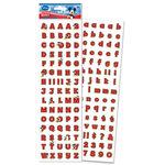 EK Success - Disney - 3 Dimensional Stickers - Mickey Red Alphabet, CLEARANCE