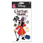 EK Success Disney - 3D Stickers - Hook