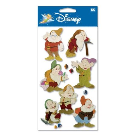 EK Success Disney - 3D Stickers - 7 Dwarves