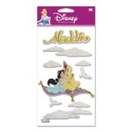 EK Success Disney - 3D Stickers - Aladdin and Jasmine, CLEARANCE
