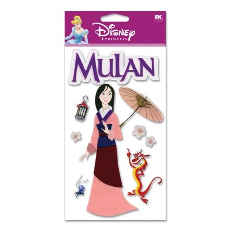 EK Success Disney - 3D Stickers - Mulan