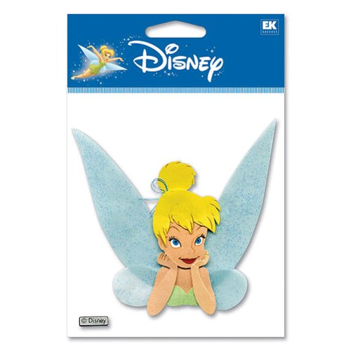 EK Success - Disney - 3D Stickers - Tinkerbell - Silhouette, CLEARANCE
