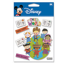 EK Success - Disney - 3 Dimensional Stickers - It's A Small World