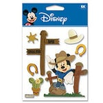 EK Success - Disney - 3 Dimensional Stickers - Western Mickey