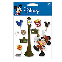 EK Success - Disney - 3 Dimensional Stickers - Parade Mickey