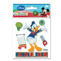 EK Success - Disney Collection - Mickey Mouse Clubhouse - 3 Dimensional Stickers - Donald Duck, CLEARANCE