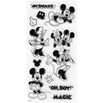 EK Success - Disney Collection - Clear Acrylic Stamp Set - Mickey