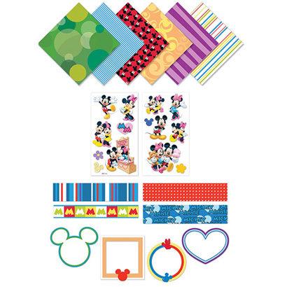 EK Success - Disney - 8x8 Page Kit - Mickey and Minnie