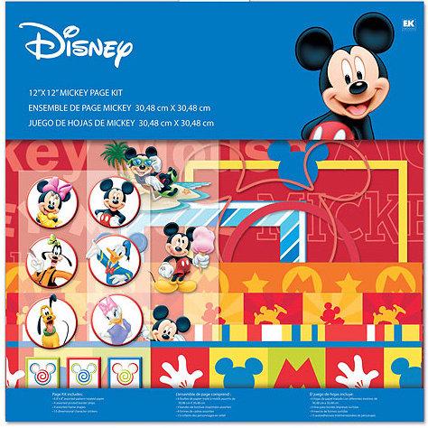 EK Success - Disney - 12x12 Page Kit - Mickey
