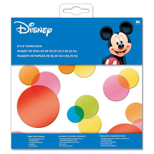 EK Success - Disney - 8x8 Paper Pack - Mickey