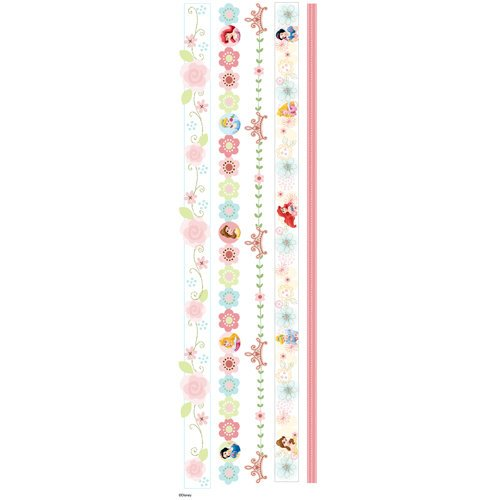 EK Success - Disney Collection - 3 Dimensional Stickers with Epoxy and Glitter Accents - Princess Dreamland Border