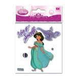 EK Success - Disney Princess Collection - 3 Dimensional Stickers - Jasmine, CLEARANCE