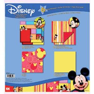 EK Success Disney Collection Paper Packs - Mickey