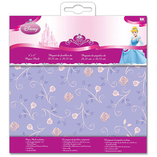 EK Success - Disney - 8x8 Paper Pack - Princess