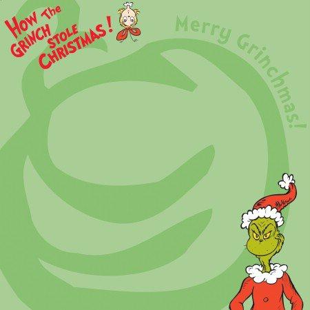 EK Success Dr. Seuss Patterned Paper - Merry Grinchmas, CLEARANCE