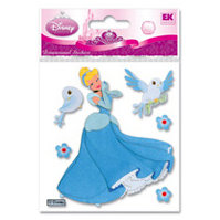 EK Success - Disney Princess Collection - 3 Dimensional Stickers - Cinderella Bluebird, BRAND NEW