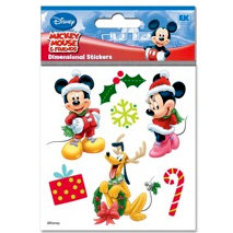EK Success - Disney Christmas - 3 Dimensional Stickers - Mickey and Friends Christmas