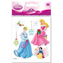 EK Success - Disney Christmas - 3 Dimensional Stickers - Princess, BRAND NEW