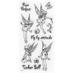 EK Success - Disney Collection - Clear Acrylic Stamp Set - Tinker Bell