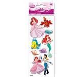 EK Success - Disney Princess Collection - 3 Dimensional Stickers - Little Mermaid