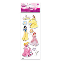 EK Success - Disney Princess Collection - 3 Dimensional Stickers - Princess Crown, BRAND NEW